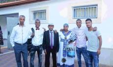 הבוגר וסבו שעלה מאתיופיה