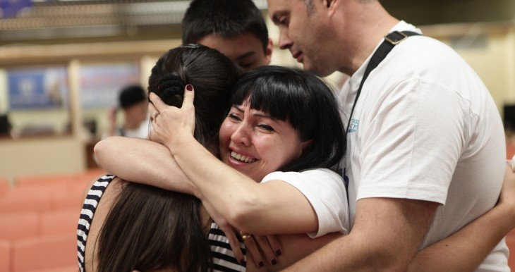 """אלכסנדרינה ז'ולודב בת ה- 18 עלתה ארצה לפני כשנה מאוקראינה במסגרת תכנית סל""""ה (סטודנטים לפני הורים) של הסוכנות היהודית."""