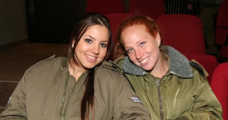 Illustration: IDF lone soldiers on duty.