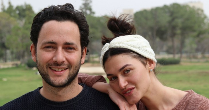 Sasha and Yankel learned Hebrew and found each other at Ulpan Etzion