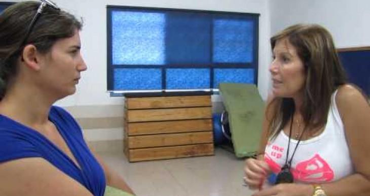 Ofakim Yoga Impact ruti gym teachers about yoga and children