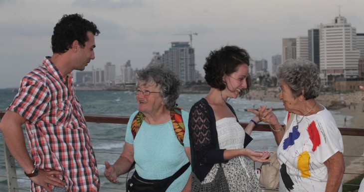 The Intergeneration program facilitates Hungarian Holocaust survivors to share their stories with the third generation who are exploring their Jewish identities