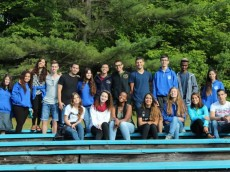 Leadership Together participants at summer camp