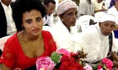 Ben Gurion Airport: Bertuken awaits her sister who will join her at the Mevasseret Zion Absorption Center