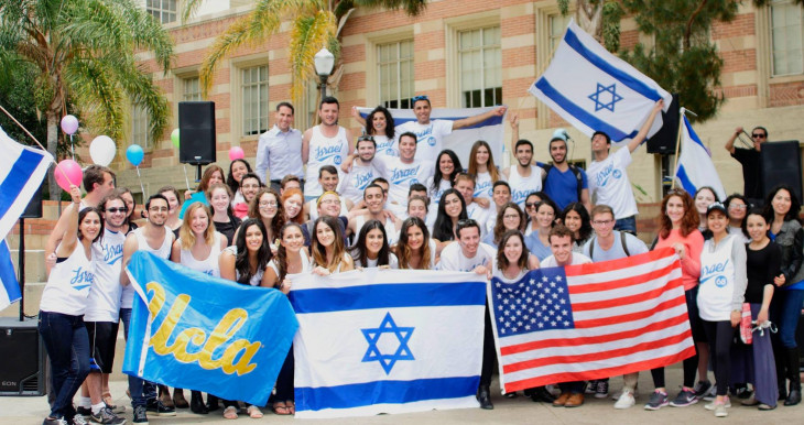 Israel Fellows in campus fighting BDS