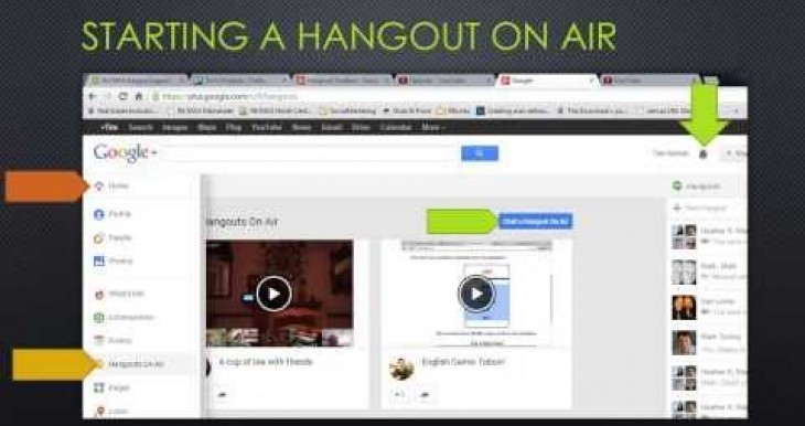 Google Hangout on Air Tutorial