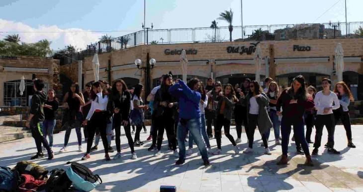 רוקדים ביפו העתיקה
