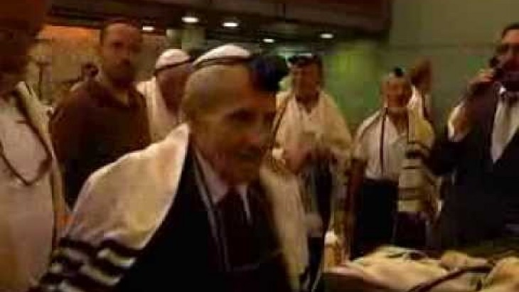 Bar Mitzvah Celebration for Amigour Residents at the Western Wall