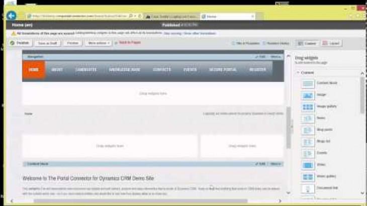 Telerik Sitefinity Webinar: Deliver Microsoft Dynamics Customer Portals Rapidly
