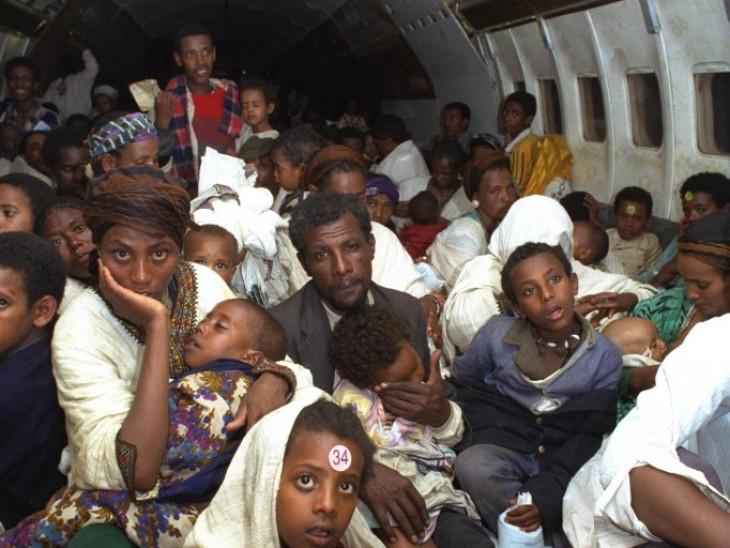 עולים יוצאים מאתיופיה