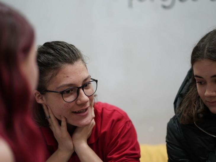 """""""הרעיון של הפרויקט הזה הוא שכמה שיותר בנות נוער ייחשפו למדע ולטכנולוגיה"""""""
