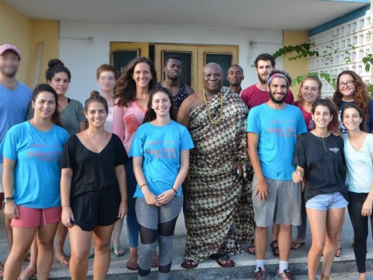 """""""גאנה היא מדינה דמוקרטית ולא-אלימה והאנשים רוצים להתפתח וללמוד"""""""