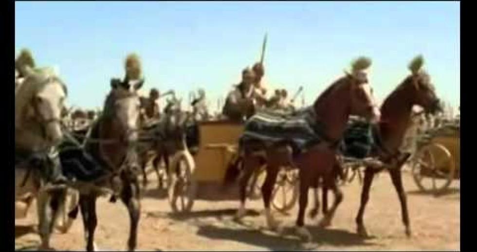 הסרטון הכי מדהיייייים שממחיש את יציאת מצריים !!! (לא מדויק כ''כ אבל בכל זאת)