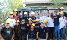 The first group of volunteers from the Ramat HaNegev Regional Council cleared debris and helped renovate houses in their Partner community in Colorado after the floods.