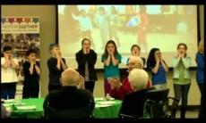 Intergenerational International TU Bishvat Seder with Partnership2Gether Western Galilee